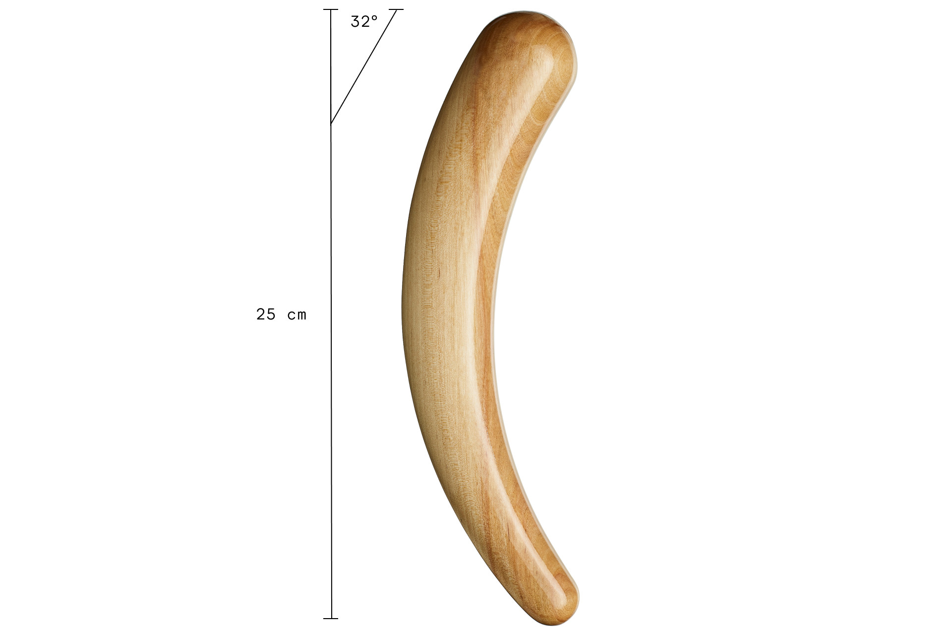Teatiamo Dildos are approximately 30 cm long from longer arch
